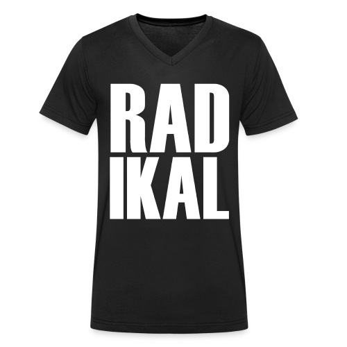 Radikal - Männer Bio-T-Shirt mit V-Ausschnitt von Stanley & Stella