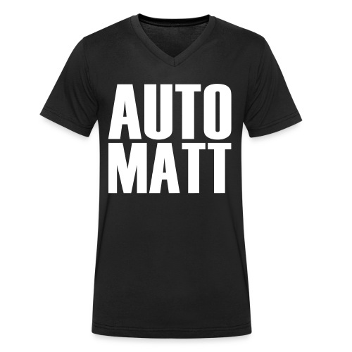 Automatt - Männer Bio-T-Shirt mit V-Ausschnitt von Stanley & Stella