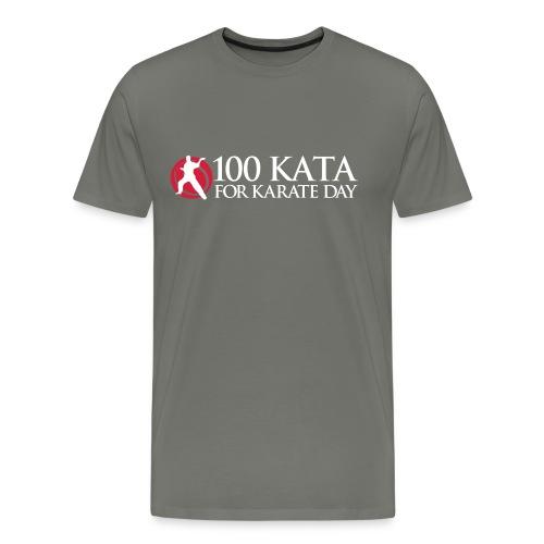 100 Kata for Karate Day official tshirt 01 - Men's Premium T-Shirt