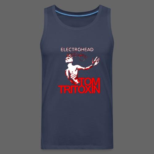 TOM TRITOXIN ELECTROHEAD Tank m - Männer Premium Tank Top