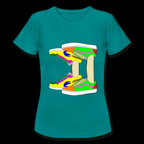 Mirror shoes - T-shirt Femme