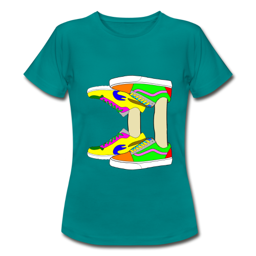 Mirror shoes - T-shirt Femme
