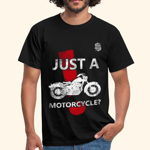 Just a Motorcycle manga corta - Camiseta hombre