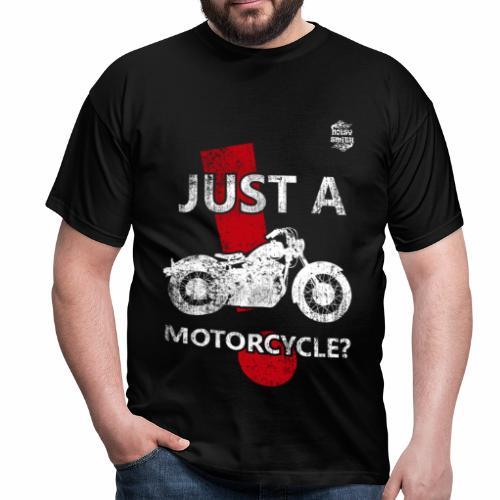 Just a Motorcycle manga corta - Camiseta hombre