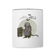 Mugs & Drinkware ~ Contrasting Mug ~ On fait du jazz