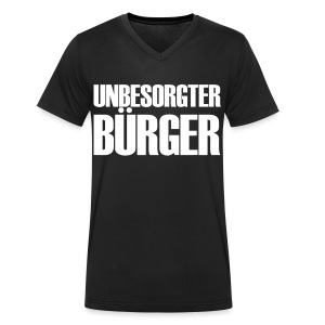 Unbesorgter Bürger - Männer Bio-T-Shirt mit V-Ausschnitt von Stanley & Stella