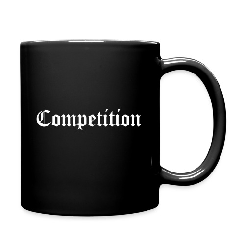Black Competition Coffee Mug - Full Colour Mug