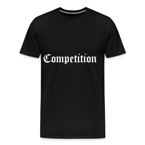 Black Competition Short Sleeve T-Shirt - Men's Premium T-Shirt