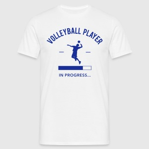Volleyball Player loading Tee shirts - T-shirt Homme