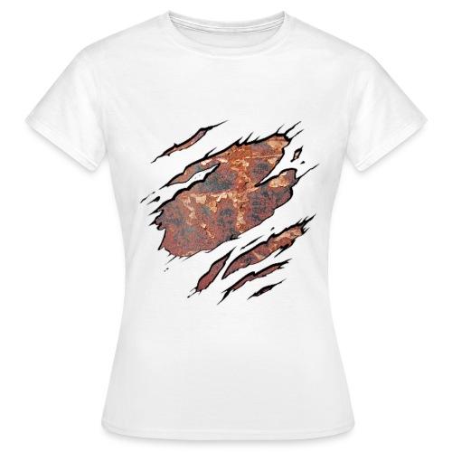 3D Ripped Rusty Women's T-Shirt - Women's T-Shirt