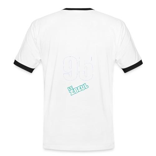 ZbeuL 95 - T-shirt contrasté Homme