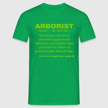 Arborist Definition - Men's T-Shirt