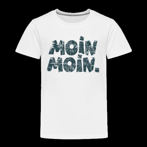 Moin Moin. (Vintage Blau) Kinder T-Shirt - Kinder Premium T-Shirt