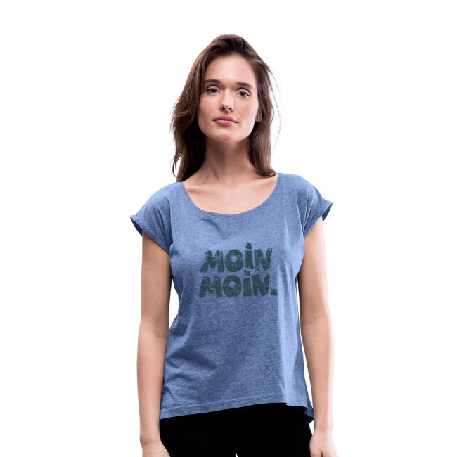 Moin Moin. (Vintage Blau) T-Shirt