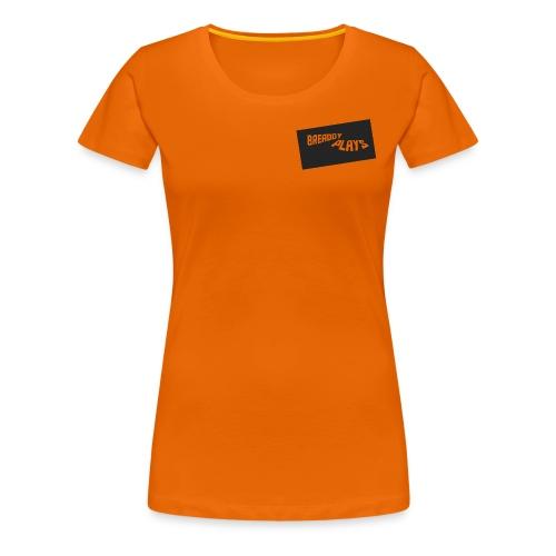 Womens Premium T-Shirt - Orange - Women's Premium T-Shirt