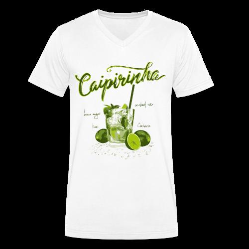 CAIPIRINHA - Männer Bio-T-Shirt mit V-Ausschnitt von Stanley & Stella