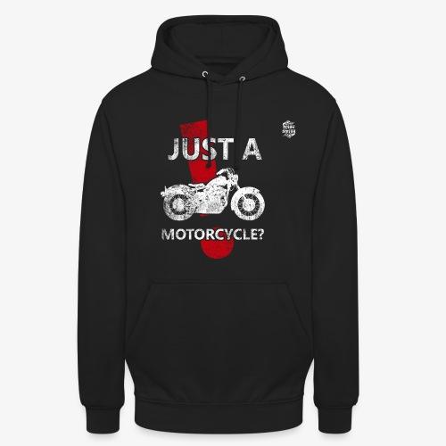 Just a Motorcycle sudadera con capucha - Sudadera con capucha unisex