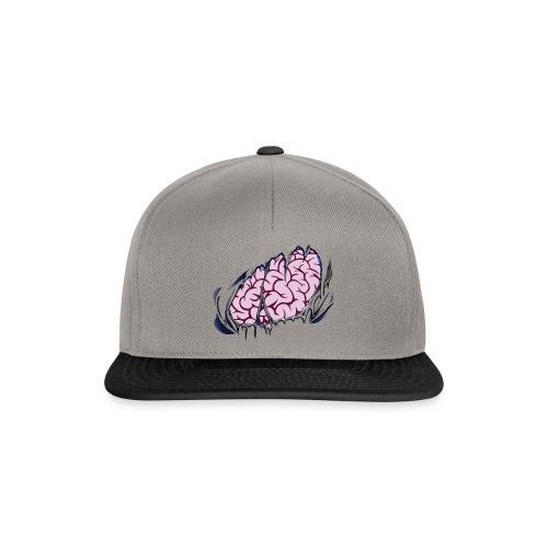 3D Ripped Brain Snapback - Snapback Cap