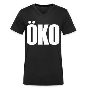 Öko - Männer Bio-T-Shirt mit V-Ausschnitt von Stanley & Stella