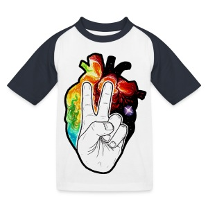 Peace! - Kids' Baseball T-Shirt