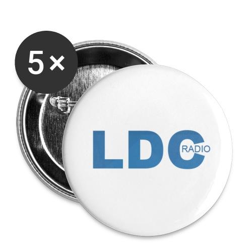 badge LDC radio - Badge moyen 32 mm