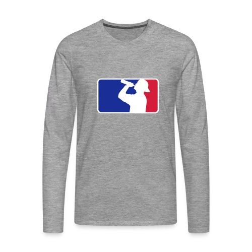 NB lang T-shirt - Männer Premium Langarmshirt