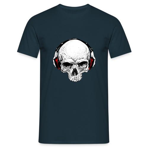hard music skull - Maglietta da uomo
