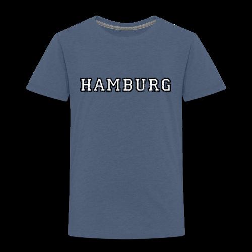 Hamburg College (Vintage Weiß) Kinder T-Shirt - Kinder Premium T-Shirt