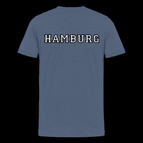 Hamburg College (Vintage Weiß) Teenager T-Shirt - Teenager Premium T-Shirt