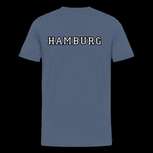 Hamburg College (Vintage Weiß) S-5XL T-Shirt - Männer Premium T-Shirt