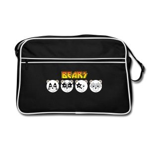 Kiss Bears Retro Bag - Retro Bag