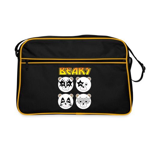 Kiss Bears (large) Retro Bag - Retro Bag