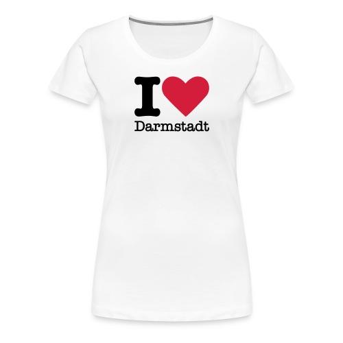 I Love Darmstadt - Frauen Premium T-Shirt
