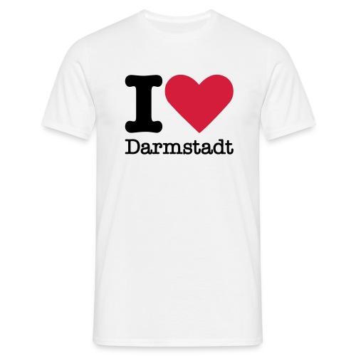 I Love Darmstadt - Männer T-Shirt