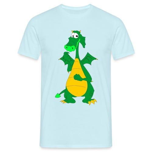 Sød drage - Herre-T-shirt