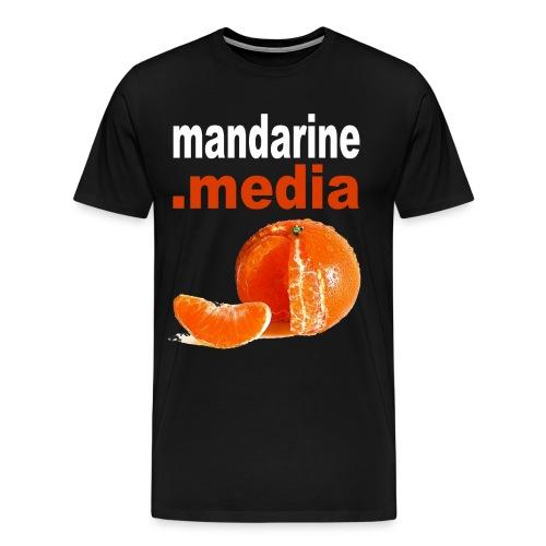 tee shirt homme noir - T-shirt Premium Homme