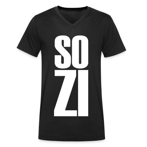 Sozi 2 - Männer Bio-T-Shirt mit V-Ausschnitt von Stanley & Stella