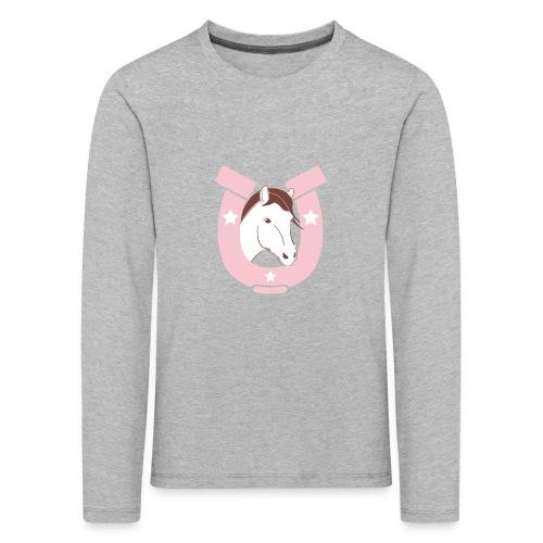 Spielpferd.de Kinder Premium Langarmshirt - Kinder Premium Langarmshirt