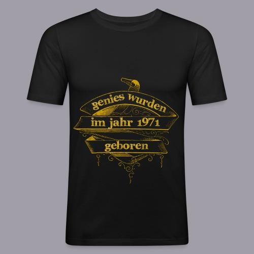 Genies wurden im Jahr 1971 geboren - Männer Slim Fit T-Shirt