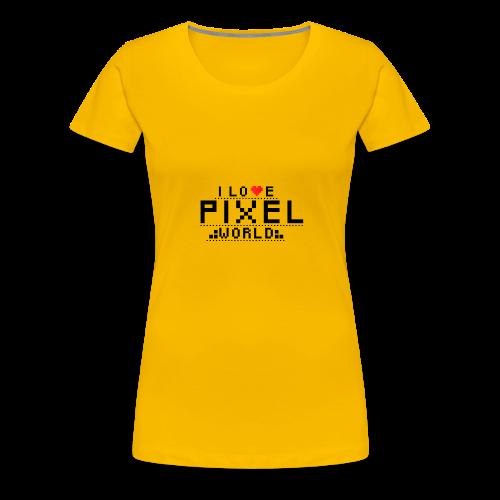 Pixel - Koszulka damska Premium