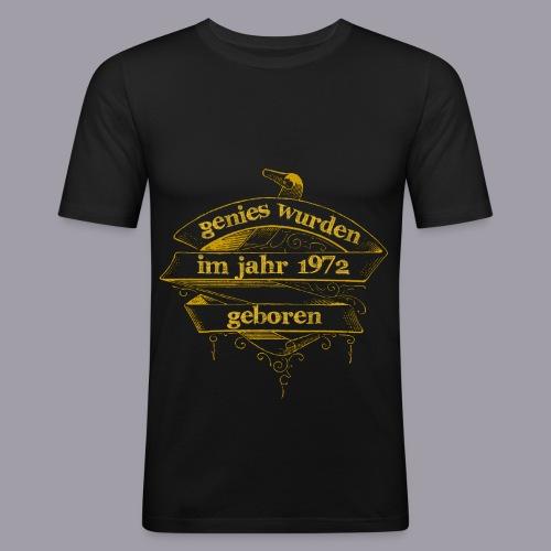 Genies wurden im Jahr 1972 geboren - Männer Slim Fit T-Shirt