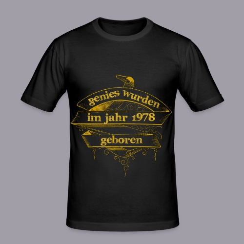 Genies wurden im Jahr 1978 geboren - Männer Slim Fit T-Shirt