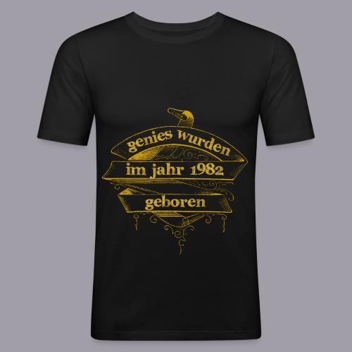 Genies wurden im Jahr 1982 geboren - Männer Slim Fit T-Shirt