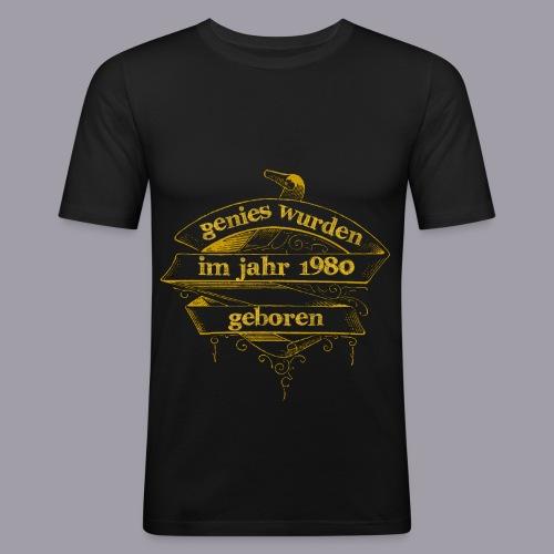 Genies wurden im Jahr 1980 geboren - Männer Slim Fit T-Shirt