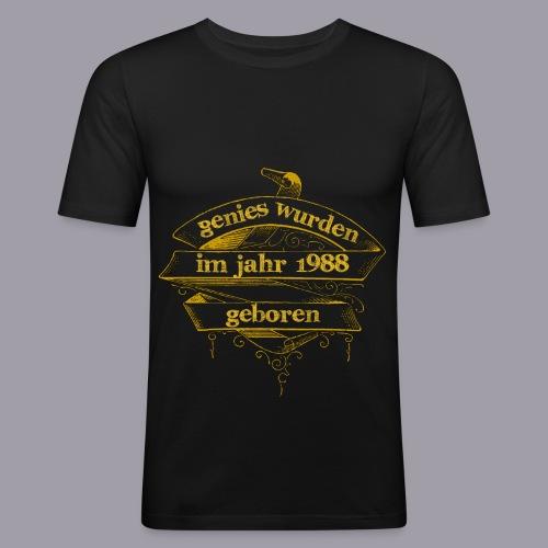 Genies wurden im Jahr 1988 geboren - Männer Slim Fit T-Shirt