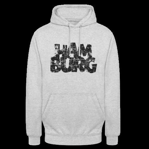 Hamburg (Vintage Schwarz) Hoodie - Unisex Hoodie