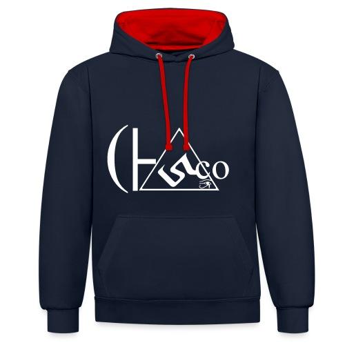 Cesco Hoodie - Contrast Colour Hoodie