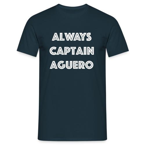 Always Captain Aguero - Men's T-Shirt