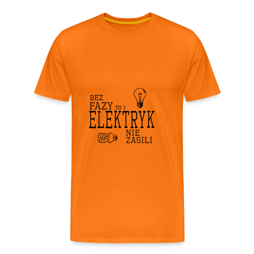 Elektryk - Koszulka męska Premium