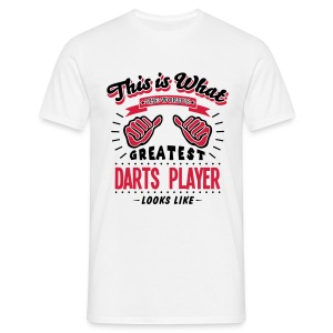 Darts Player - Männer T-Shirt